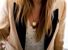 coin necklace (: