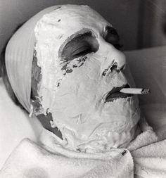 facial with extra nicotine