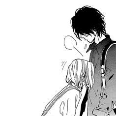 Anyone know what manga this is? – Anime couple Weiß jemand was Manga das ist? Anime Couples Drawings, Anime Couples Manga, Couple Drawings, Cute Anime Couples, Futaba Y Kou, Manga Anime, Romantic Manga, Manga Cute, Anime Love Couple