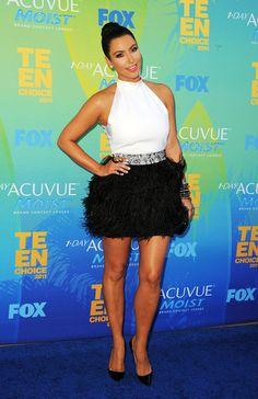 Kim Kardashian Button Down Shirt - Kim Kardashian Looks - StyleBistro