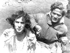 Pierre Clémenti and Pier Paolo Pasolini on the set of Porcile Pier Paolo Pasolini, Lisa, Real Life, Cinema, Lovers, Culture, Guys, People, Films
