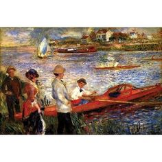 Buyenlarge 'Oarsman of Chatou' by Pierre-August Renoir Painting Print Size: