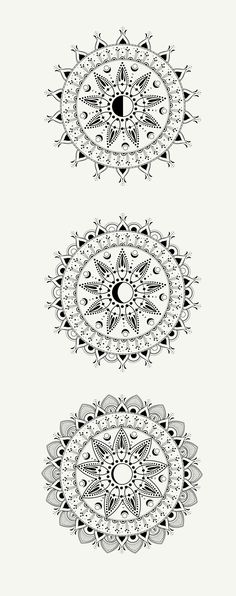LINE ART | HAPPY MANDALA | Cocorrina