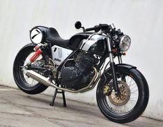 Suzuki GN250 Guzzi V7 style