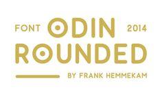 Tipografía Odin Rounded para descargar