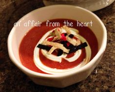 an affair from the heart: Fire Roasted Tomato Soup