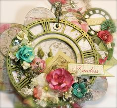 """You Can Do it!! :) 'With A Grin: Scrapbooking """"Love Is Timeless"""" Mini Album (featuring BFS)"""