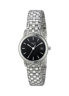 Longines Women's LNG42164526 Flagship Analog Display Quartz Silver Watch