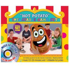 Amscan Carnival Fair Fun Inflatable Hot Potato Game Party Activity 2 Piece Multicolor 12 x 16 x 7 ** You can find out more details at the link of the image. Note:It is Affiliate Link to Amazon.