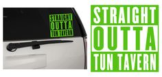 Straight Outta Tun Tavern United States Marine Corps (USMC) In/Outdoor Vinyl Decal Sticker MultiPurpose For Your Auto, Wall, Window & More!  Purchase this product along with all of our other spectacular decals through one of the following links:   https://www.etsy.com/shop/MiaBellaDesignsWI  http://www.amazon.com/s?marketplaceID=ATVPDKIKX0DER&me=A2MSEOIVL689S1&merchant=A2MSEOIVL689S1&redirect=true