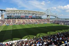 PPL Park: the home of the 2012 MLS All-Star Game in Chester County, PA