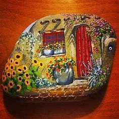 17 Best images about mushroom/fairy houses---painted rocks ...