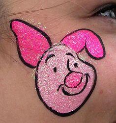 piglet piglet tattoo, piglet facepainting
