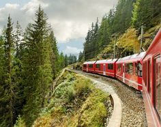 The Best Ways to Travel Around Europe : Planes, Trains or Bus? Slow Travel, Ways To Travel, Travel Tips, Fun Places For Kids, Weekend France, Trains, Inter Rail, Bernina Express, Backpacker