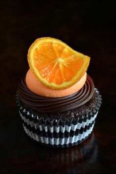 RECIPE | Sunkissed Choc Orange Cupcakes with Grand Marnier ganache