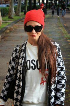 Into the groove fashion blog By Marie Zamboli: RETRO ERA THICK SQUARE FRAME HIPSTER SUNGLASSES 8969