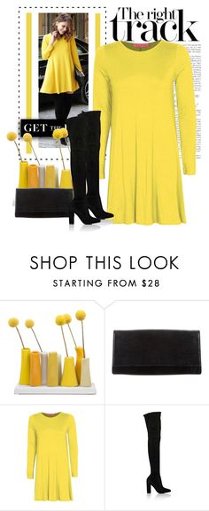 """""""gianvito rossi o-t-k-b"""" by bodangela ❤ liked on Polyvore featuring Dot & Bo, Louis Vuitton, Boohoo and Gianvito Rossi"""