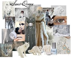 """Snow Queen"" by mystimorgan on Polyvore"