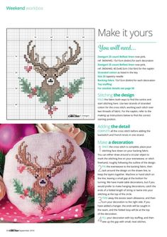 Thrilling Designing Your Own Cross Stitch Embroidery Patterns Ideas. Exhilarating Designing Your Own Cross Stitch Embroidery Patterns Ideas. Cross Stitch Christmas Ornaments, Xmas Cross Stitch, Cross Stitch Love, Cross Stitch Animals, Christmas Embroidery, Christmas Cross, Cross Stitch Charts, Cross Stitch Designs, Cross Stitching