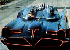 The Batmobile ... The Lincoln Futura was a concept car designed by the Lincoln division of Ford Motor Company. It was built by Ghia entirely by hand in Italy at a cost of $250,000 and displayed on the auto show circuit in 1955. In 1966 the car was modified by George Barris into the Batmobile, for the 1966 TV series Batman.    http://en.wikipedia.org/wiki/Lincoln_Futura