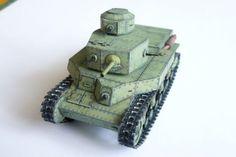 Soviet Medium Tank T-24 Free Paper Model Download…