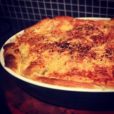#j3 avocado oil leek and chicken pie!