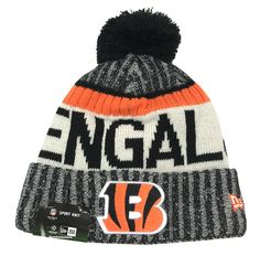 New Era 2017 NFL Cincinnati Bengals On Field Knit Beanie Cap Hat OTC  11460403 Cincinnati Bengals cb00a109a03f