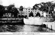 Florida Memory - View of the Indian River Hotel - Rockledge, Florida