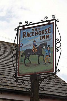 Racehorse at Catworth, Huntingdonshire