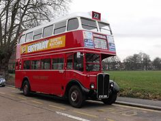 by Ian Jackson via London Bus Museum London. It ran on London's streets from 1939 to London Transport, Mode Of Transport, London Bus, Old London, Rt Bus, Route 22, Bus Shelters, Routemaster, Uk History