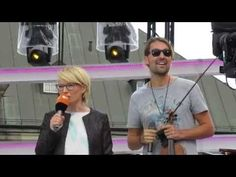 David Garrett - Soundcheck+Interview - AIR - Dresden 02.10.2016 - YouTube