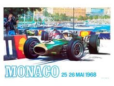 Giclee Print: Auto Racing Art & Photography Art Print : 18x24in
