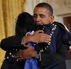 """From The Obama Diary: """"July 2012 marked the two-year anniversary of the enactment of the Tribal Law and Order Act …. Lisa Iyotte, a Lakota woman, a survivor, shared her personal story of her brutal rape that occurred in her home on a reservation as her young daughters watched. The man who raped her was never prosecuted for his crimes against her.... I just thought of this video tonight, after the events of today... It was what 'Romney/Ryan/Legitimate Rape 2012′ would never recognize:  Humanity."""""""