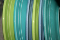blue & green---Our wedding colors--39+ years ago.