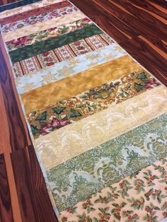Metallic Christmas Table Runner Extra Long Extra Wide Table Topper Handmade  Homemade Quilt By Heathersquaintquilts On