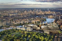 gehry and foster   partners chosen for battersea power station - designboom | architecture