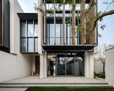 Jinghope Villas in Suzhou, China - designed by Singapore architecture firm, SCDA, photographed by Seth Powers. [2016.3]
