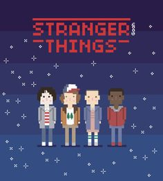 Stranger-Things-Poster-by-Gabriel-Soares-C-Viana