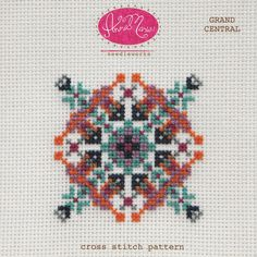 Anna Maria Horner Cross Stitch Pattern - Grand Central