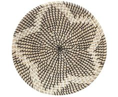 Bloomingville Black and White Sea Grass Tray - Trouva White Sea, Black And White, Scandi Style, Gras, Deco Design, Centre Pieces, Danish Design, White Patterns, Plant Decor