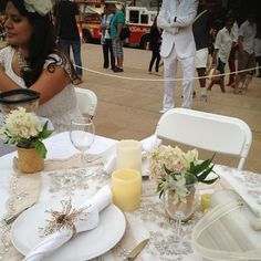our table diner en blanc NYC 2012