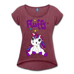 Niedliche Artikel der Marke Fluffy. Einhörner sind süß aber unseres ist am süßesten. Mehr unter www.lalli-und-loops.de