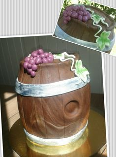 #chocolatecake #winebarrel #grapes #barrel