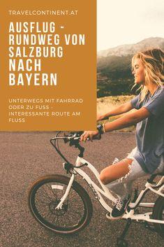 Eine #Route für eine einfache #Wanderung oder als #Fahrrad-Tour zwischen #Salzburg und #Bayern, traumhaft schön an der Salzach mit interessanten Stationen. Tipps für eine tolle Route für die ganze #Familie. #ausflugstipp #städtetrip Urban Park, River