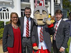@t_roy_of_troyu and members of @troysga represented #TroyUniversity at the governor's mansion in Montgomery for the official proclamation of College Colors Day 2015. Gov. Robert Bentley, surrounded by all of the mascots from the state's public universities and student leaders, proclaimed Friday, Sept. 4, to be College Colors Day in Alabama. #TROYUspirit