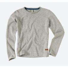 Bench Unifarbener Pullover Provide mit Rollsaum