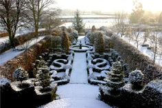 English winter garden by {this is glamorous}