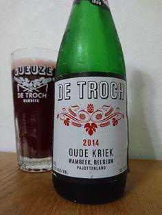 De Troch Oude Kriek De Troch Oude Kriek Alc.55%Vol. e375cl Brouwerij De Troch Langestraat 20 B-1741 Ternat-Wambeek www.detroch.be