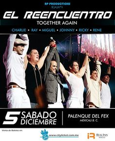 El Reencuentro de Menudo en Mexicali  info http://tjev.mx/1P3UaYu #Conciertos más info en http://tjev.mx/9jUxqh