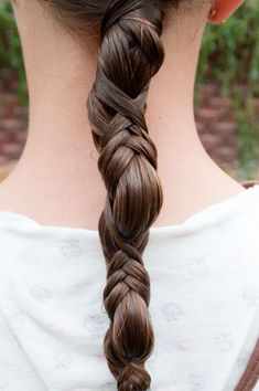 Awesome Brown Braid for Homecoming and Prom - Homecoming Hairstyles 2014